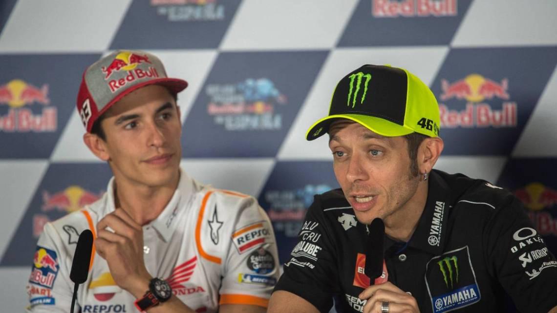 Marquez o Rossi chi è il pilota più forte di tutti i tempi?