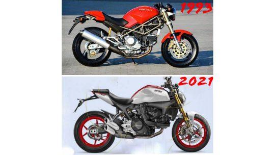 Aspettando la Ducati Monster 2021..in principio c'era il Monster 900