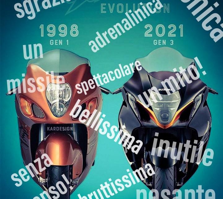 Suzuki Hayabusa 2021, chi la apprezza e chi no, come sempre