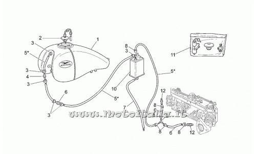 Filtro a carboni Moto Guzzi per CALIFORNIA Modello/Anni