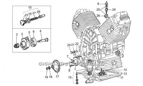 Pompa olio Moto Guzzi per NEVADA Modello/Anni: Nevada Base