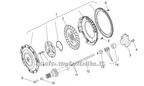 Frizione Moto Guzzi per STELVIO Modello/Anni: Stelvio 1200