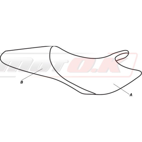 Seat cover for Ducati Monster (94-07) (café racer) by Moto