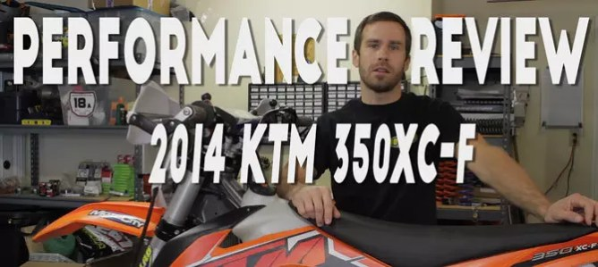 KTM 350XC-F Performance Review - Moto Lab LLC