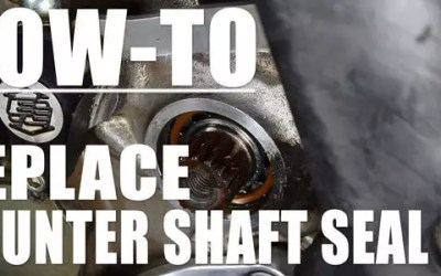 How-To: Counter Shaft Seal Replacement
