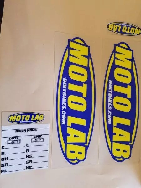 Moto Lab Sticker Kit