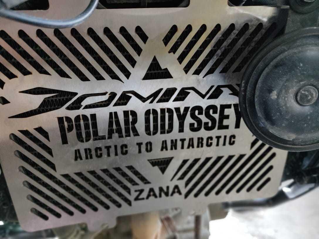 Bajaj Dominar Polar Odyssey