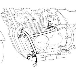 Hepco & Becker Engine Guard Kawasaki Zephyr 750