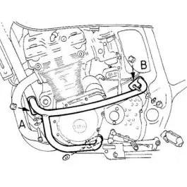 Hepco & Becker Engine Guard Suzuki GSX 1200 / GSF 1200 S