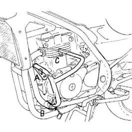Hepco & Becker Engine Guard Kawasaki ER 5