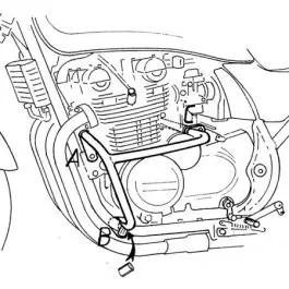 Hepco & Becker Engine Guard Kawasaki Zephyr 550