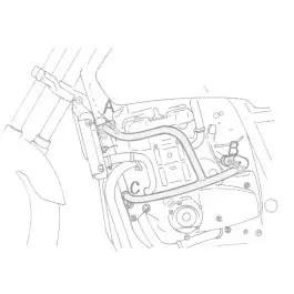 Hepco & Becker Engine Guard Honda CBX 1000