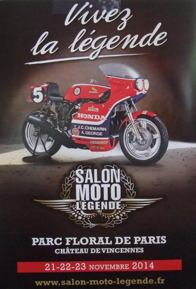 Salon Moto Lgende 2014  Honda sous le feu des projecteurs  Moto Magazine  leader de l