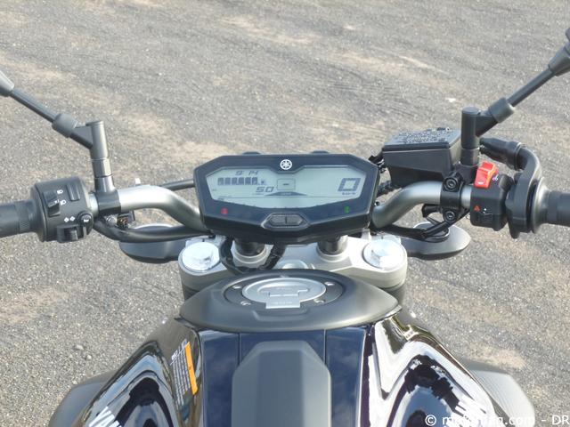 Essai Yamaha MT 07 Originale Mais Normale Moto