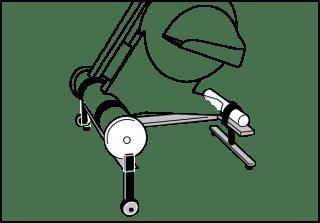 MOTOmed viva2 light Leg trainer, Arm/upper body trainer
