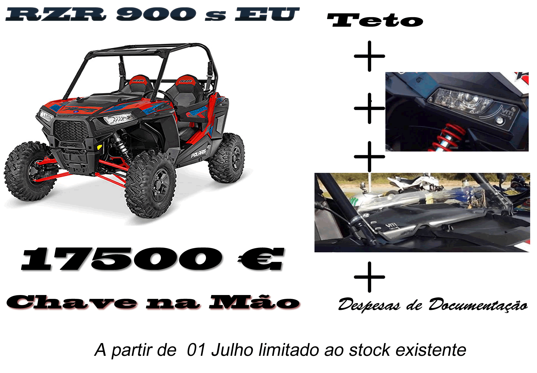 Promo RZR 900s