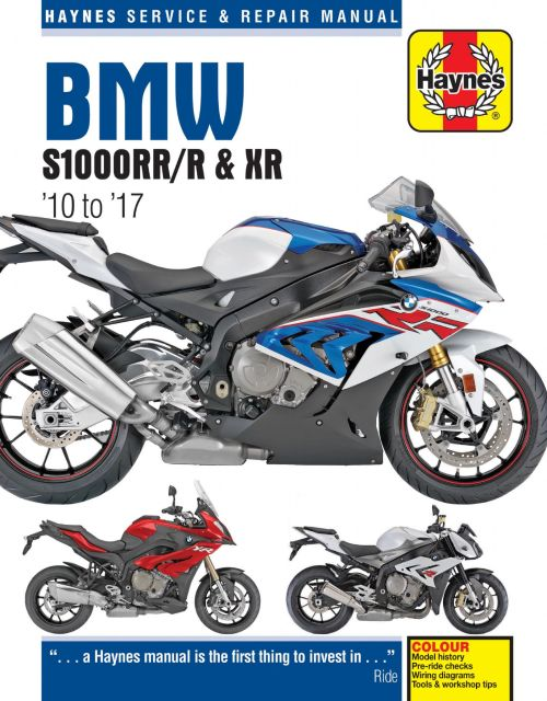 small resolution of bmw s1000rr r xr 10 to 17 haynes repair manual 2012 bmw s1000rr wiring diagram s1000rr wiring diagram