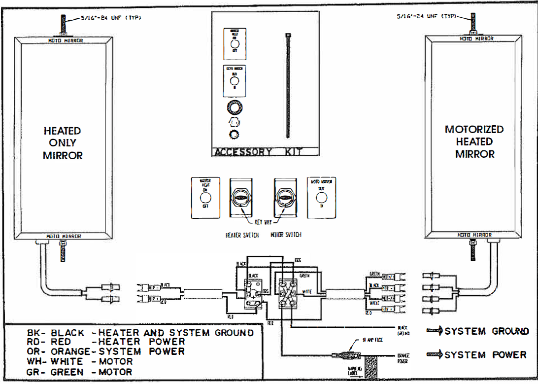 hight resolution of installation instructions motomirror gentex mirror wiring diagram forum mirror wiring diagram