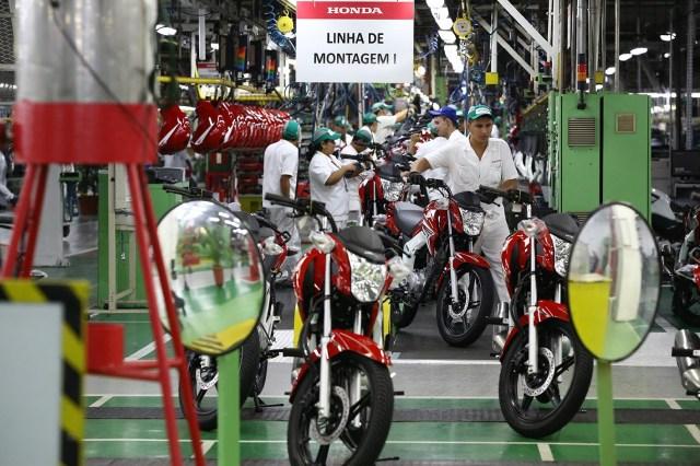 Resultado de imagem para producão de motocicletas