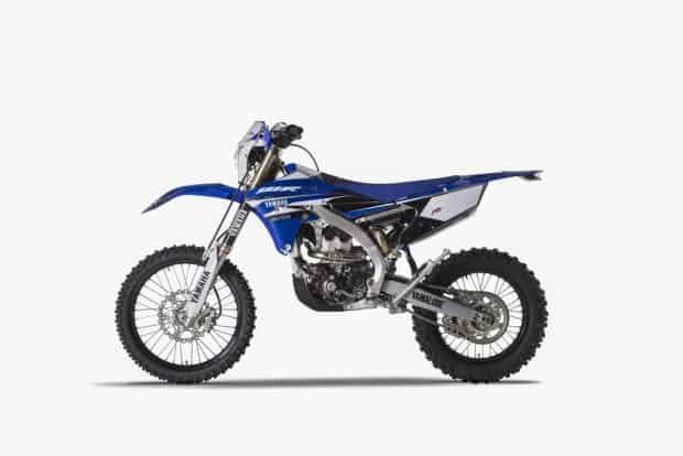 Novidades off-road: Yamaha WR250F e WR450F... na Europa