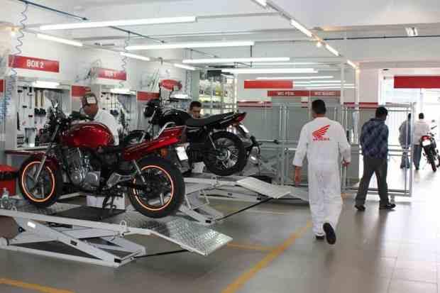 mecanica honda motos