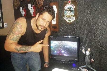 Fábio Valente, presidente do Anarquismo Moto Clube: Um encontro de motos como os de antigamente