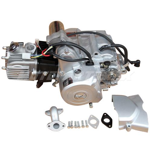 110cc Chinese Atv Wiring Diagrams 110cc 4 Stroke Engine Motor Auto W Reverse Electric