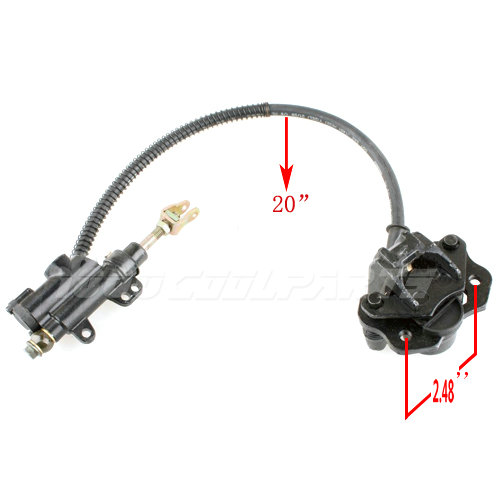 ATV Quad Parts Rear Hydraulic Brake Assembly 50cc 70 90