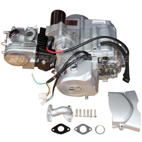 110 Atv Wiring Diagram Magneto 125cc Engine Motor Atv Semi Auto W Reverse 50cc 70cc 90cc