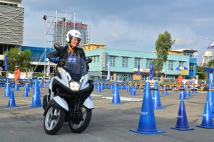 Cebu Leans To A New Trend With The YAMAHA Tricity