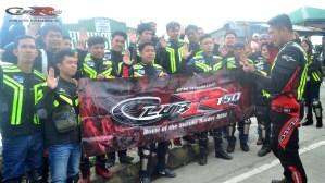 Club R150 Baguio Ride 2015!