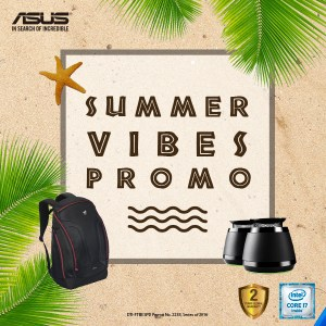 """ASUS """"Summer Vibes Promo"""""""