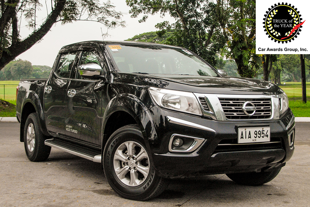 CAGI TOTY-P 2015 Nissan NP300 Navara 2.5L 4x2 EL 7AT Calibre
