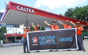 Caltex Jumpstarts Davao City leg of Fuel Your School