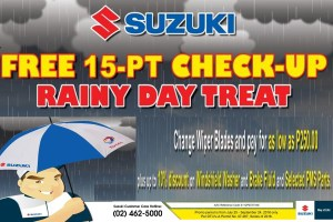 Suzuki Philippines' Free Car Checkup Service Nationwide