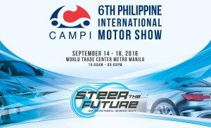 The 6th Philippine International Motor Show