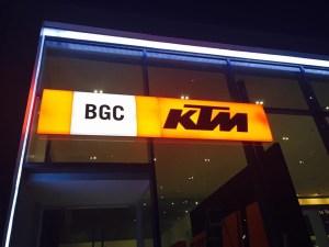 KTM BGC Store Opening