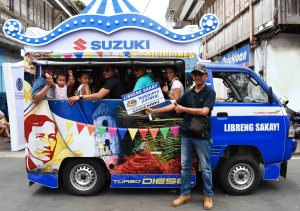 The all-new Suzuki Super Carry at Pahiyas Festival
