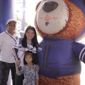Yamaha Motor Philippines Inc. Mascot Revvy Bear