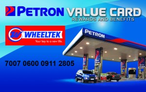 Wheeltek offers Petron Value Card to motorcycle buyers
