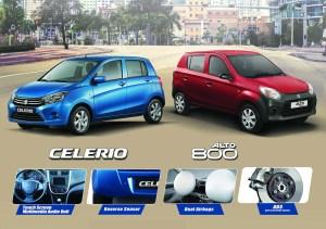 The Upgraded Suzuki Celerio and Alto
