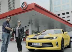 Caltex-Transformers Promo – Chevrolet Camaro Winner