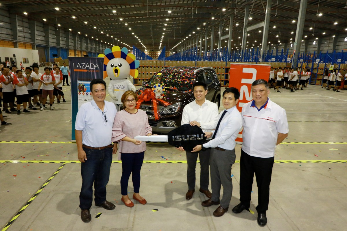 Lazada Announces the Brand-New Isuzu mu-X Grand Winner
