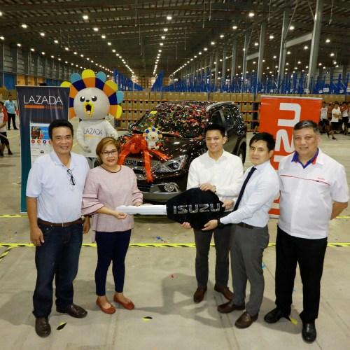 Lazada Announces the Brand-New Isuzu mu-X Grand Winner