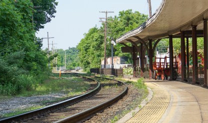 Staunton railroad Station