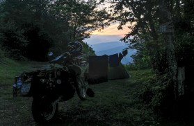 Mile High Campground with a view...