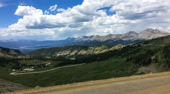 Great view from Cottonwood pass