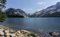 Clear water in Tenaya Lake