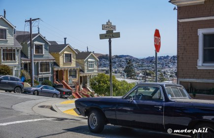 Old cars and cute houses