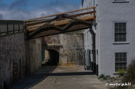 Alley on Alcatraz